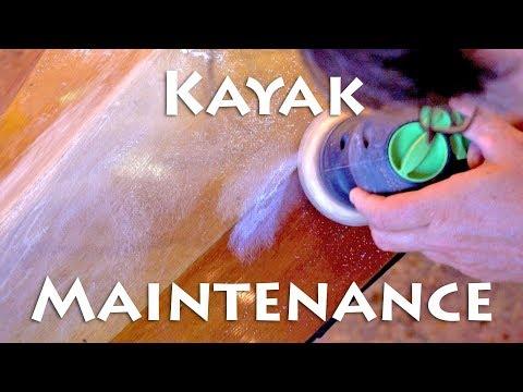 Wooden Kayak Maintenance
