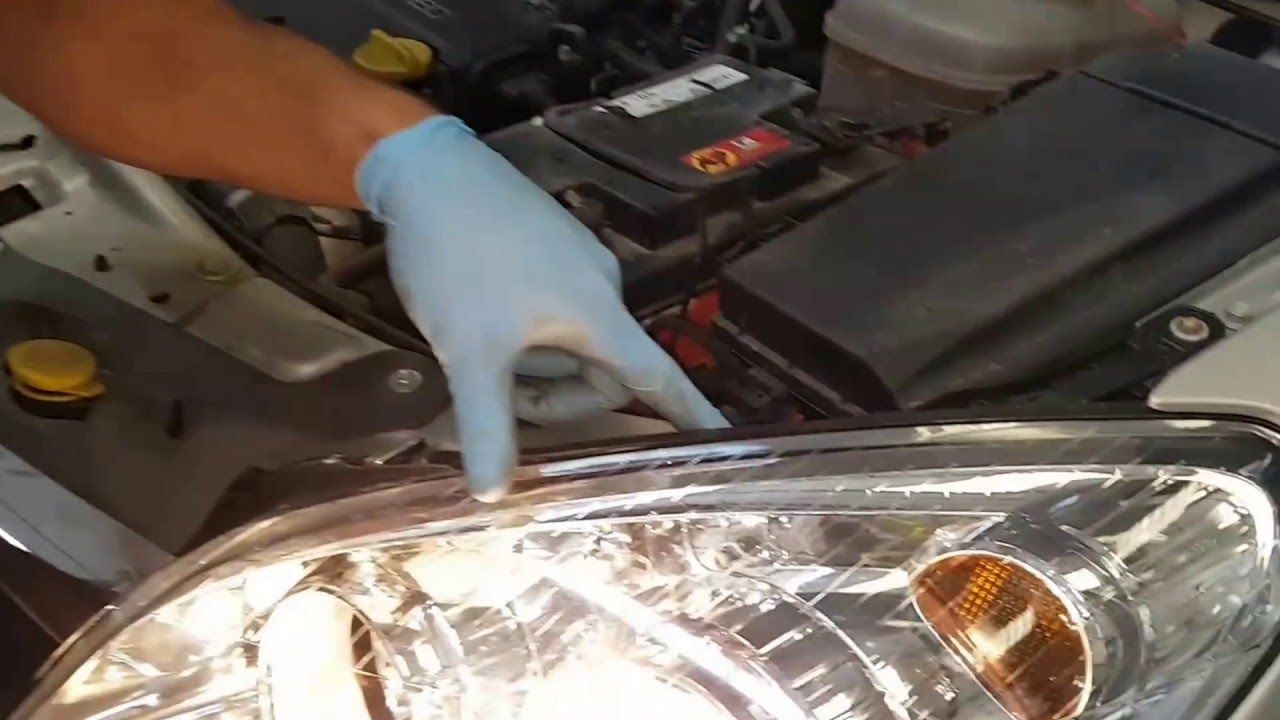 Tutorial  How to adjust headlight beam image  YouTube
