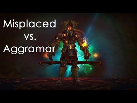 Misplaced vs. Aggramar Mythic (Warlock POV)