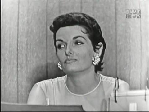 What's My Line?  Edie Adams; Jane Russell; Ernie Kovacs panel Aug 11, 1957