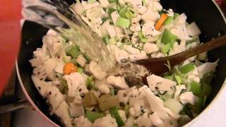 Cauliflower & Leek Soup