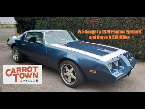 Carrot Town Garage 1979 Pontiac Trans Am Road Trip