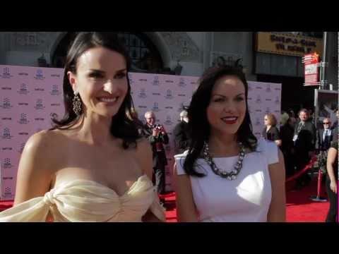 Ana Alexander &Anya Monzikova red carpet interview 2011TCM Classic Film Festival