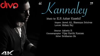 Kannaley - E.R Azhar Kaashif | Javed Ali, Sharanya Srinivas | Official Video | 4K