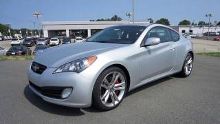 2011 Hyundai Genesis Coupe 3.8 Track Start Up, Exhaust, and In Depth Tour