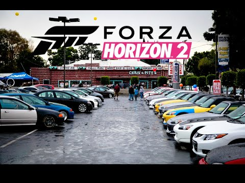 forza horizon 2 xbox one car meet in orange