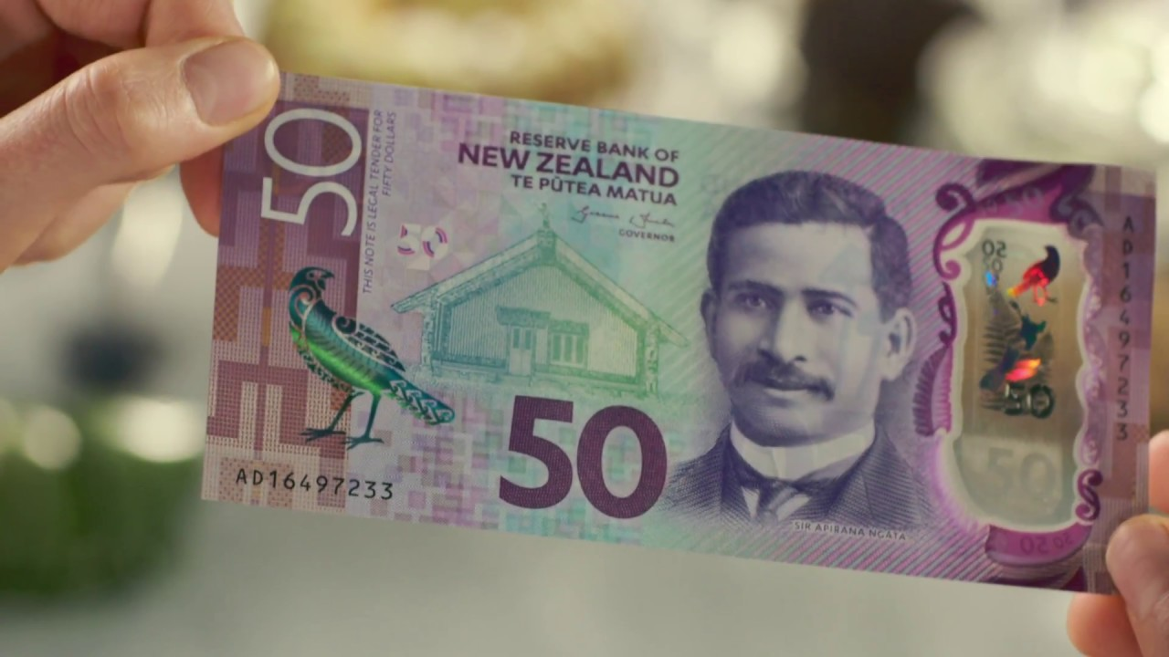 New Zealand S Brighter Money Banknotes Security Features