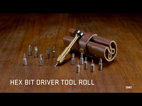 CRKT HEX BIT DRIVER TOOL ROLL | Joe Wu Design