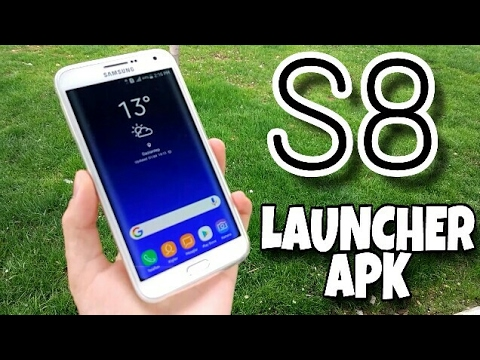 Samsung S8 / Note8 Launcher APK for All Android Devices