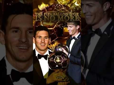 Fifa ballon d'or is no more