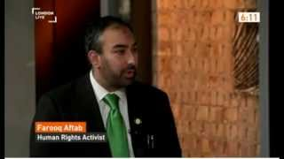 London Live: Farooq Aftab responds to Charlie Hebdo Attack