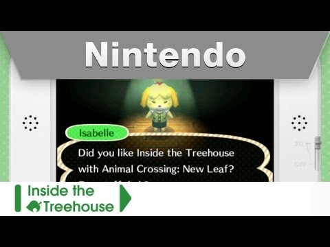 Inside The Treehouse With Animal Crossing New Leaf Custom