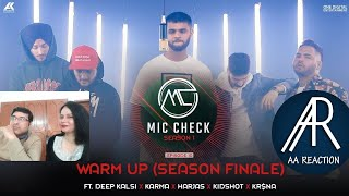Pakistani react on Warm Up Song by Deep Kalsi, Karma, Harjas, Kidshot & Kr$na|  AA reactions