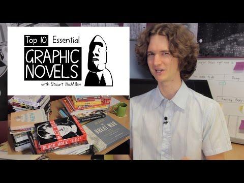 Top 10 Essential Graphic Novels, Part 2 - with Stuart McMillen