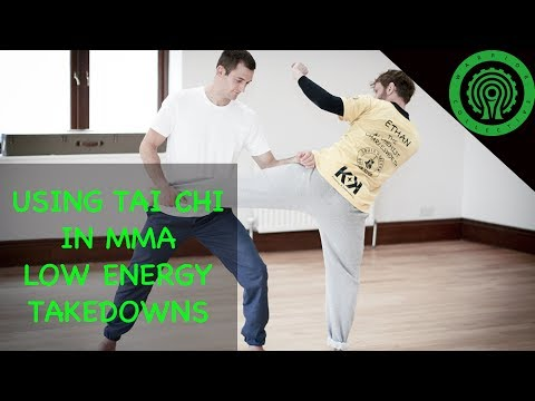 Using Tai Chi in MMA / Low Energy Takedowns