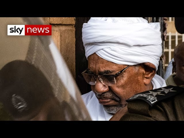 Sudan's ousted president charged with corruption
