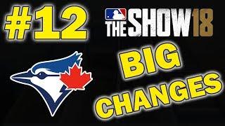BIG OFFSEASON CHANGES | TORONTO BLUE JAYS FRANCHISE EPISODE 12 | MLB 18 THE SHOW