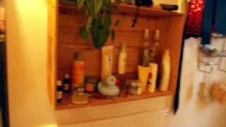 Diy Wine Crate Shelf