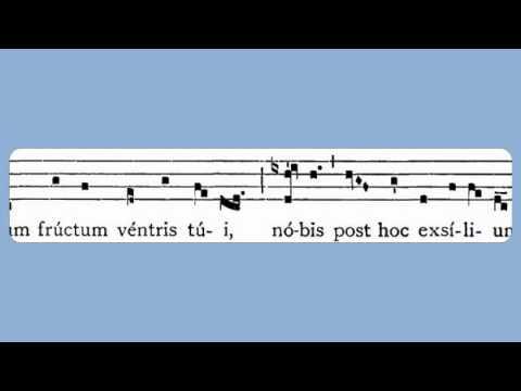 Salve Regina (Sunday Compline, Solemn Tone)