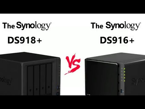 The DS918+ NAS versus DS916+Synology Flagship 4-Bay NAS Comparison