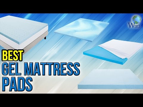 10 Best Gel Mattress Pads 2017