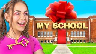 Мне подарили школу