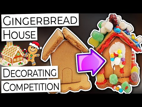 Merry Vlogmas 2020 (Day 22): Christmas Gingerbread House Decorating Competition