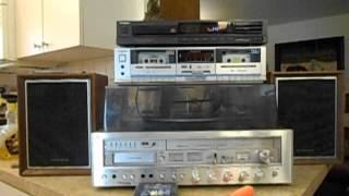 Centrex by Pioneer 8-Track Recording AM/FM Stereo Compact System RH-7744 - CD Auxiliary  Demo