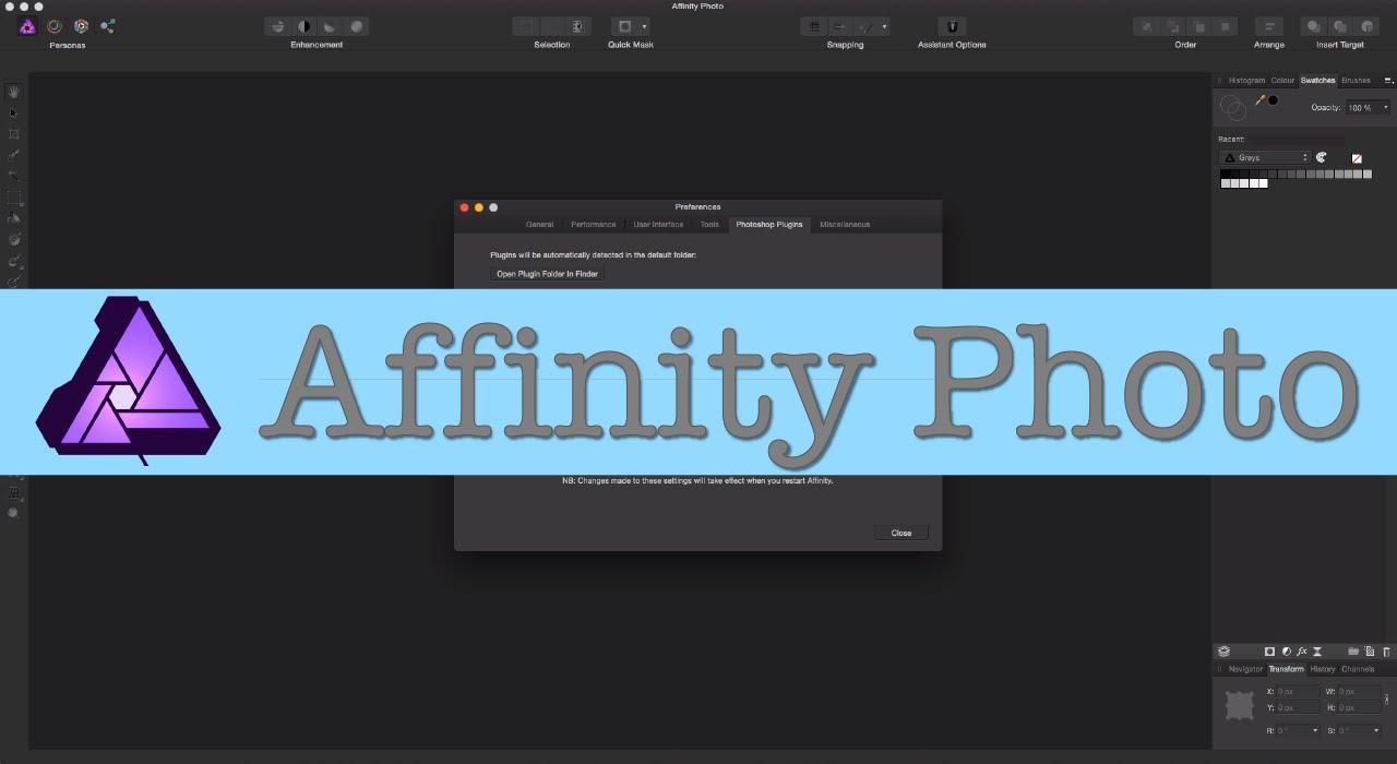 Affinity Plugins