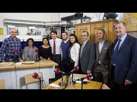 From Far and Wide: A Metro Morning round table with Justin Trudeau and Syrian refugees