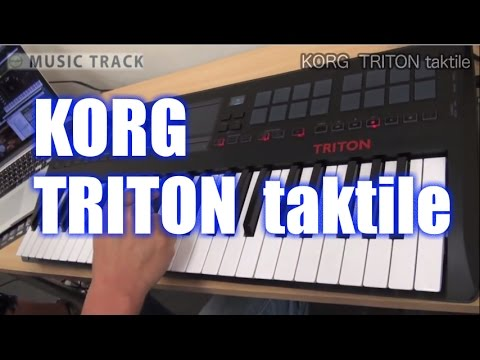 KORG TRITON Taktile Demo&Review [English Captions]