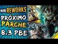 CAMBIOS para el PARCHE 8.3 PBE ¡REWORKS mini y REWORK SWAIN! | Noticias League Of Legends LoL