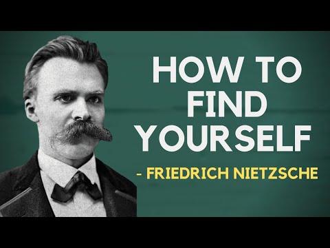 Friedrich Nietzsche - How To Find Yourself (Existentialism)