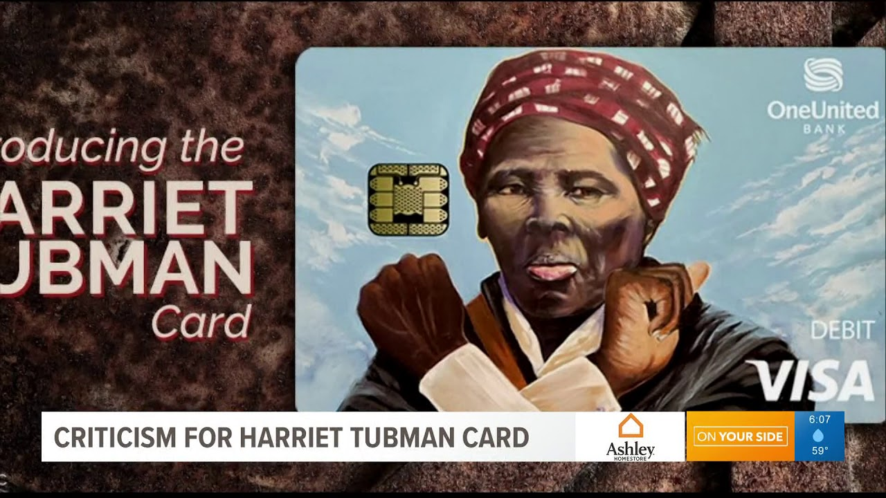 People Aren't Feelin The Harriet Tubman Visa Debit Card