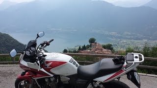 Motorcycle vacation to Italy; Brenner Pass, Road SS44 and Riva del Garda