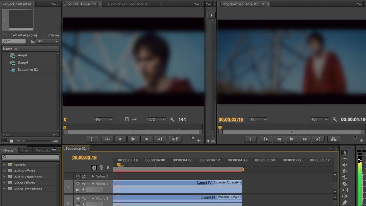 Как монтировать видео в программе Adobe Premiere Pro CS4, CS6 – Как  работать? Обзор программы