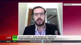 DOJ sues Bank of America for fraud