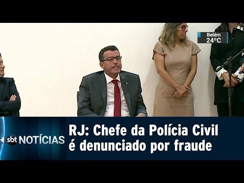 Ministério Público pede afastamento do chefe da Polícia Civil do Rio | SBT Notícias (13/07/18)