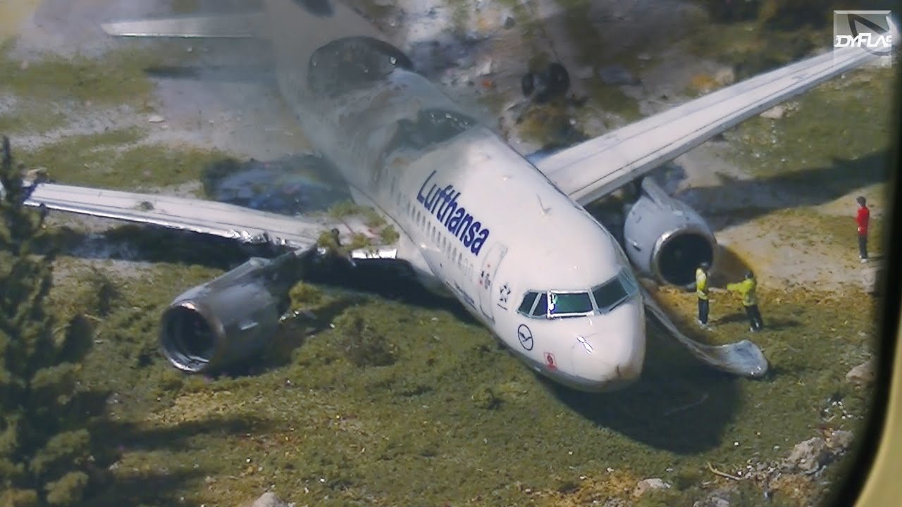 airplane crash diorama part 22 youtube