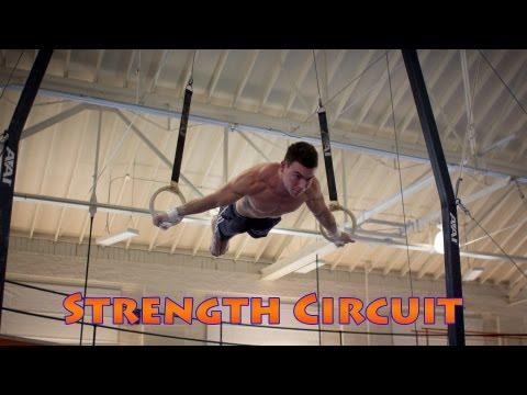 Gymnastics Conditioning Circuit Training At The University Of Illinois Gymnastics