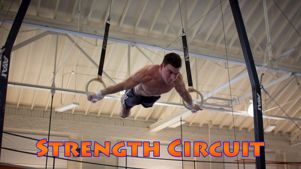 Download Gymnastics Conditioning Circuit Training at The University of Illinois Gymnastics