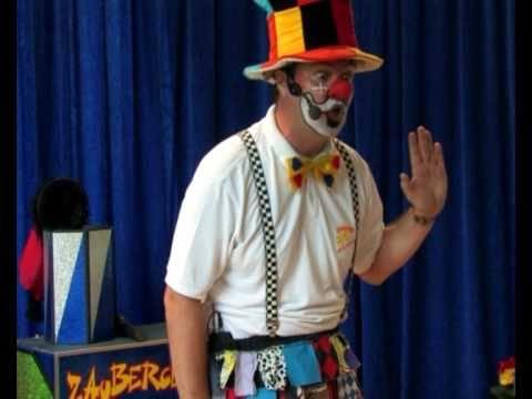 Clown Poppo Im Kindergarten