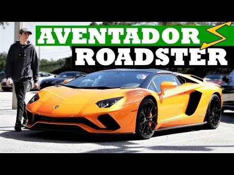 RIP Ferrari! Lamborghini Aventador S Roadster Review