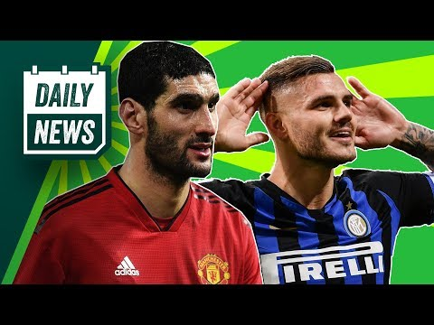 Fellaini SAVES United, Icardi spends BIG + are Madrid still UCL favourites? ► Onefootball Daily News