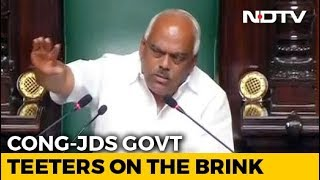 Karnataka Assembly Drama Drags On, Speaker Says Trust Vote By 6 pm Today