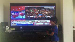 California primary 2016 result presented by our little political analyst Naman(5 year old)