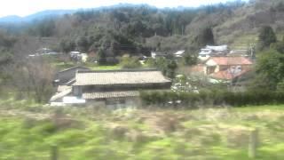 【車窓】肥薩おれんじ鉄道(湯浦~津奈木)