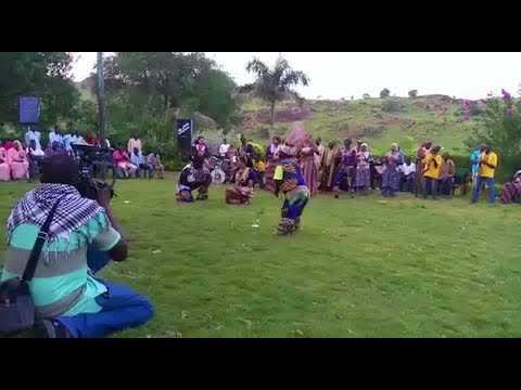 Nuba Mountains Culture ابداعات فرقة نجوم الجبال