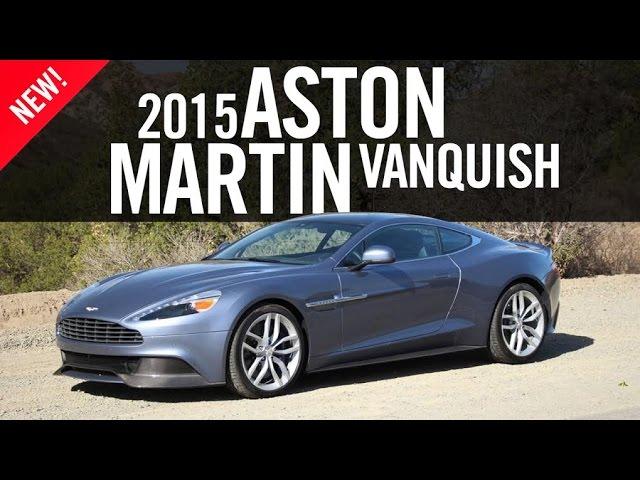 2015 Aston Martin Vanquish Review Youtube