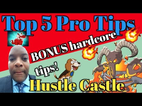 Hustle Castle - Top 5 Pro Tips! + Bonus Hardcore Tactics! | Book 6 - Ch. 49 |